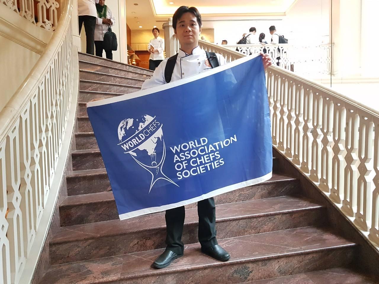 Bếp trưởng Lý Kim Long - Giám khảo quốc tế được WACS công nhận